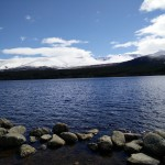 View of Loch Morlich, Aviemore.